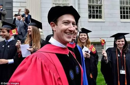 上海热线教育频道--扎克伯格终于从哈佛毕业 励